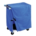 "Cart Cover for 37""W 500lb Weight Capacity Linen Cart, 25565"