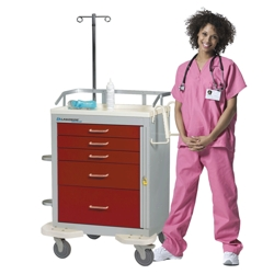 Emergency Cart with 4 Drawers, 25567