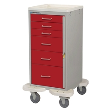 6-Drawer Emergency Mini Cart, 25569