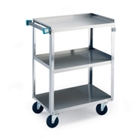 """Lakeside 24""""x16"""" Stainless Steel Utility Cart, 31794"""