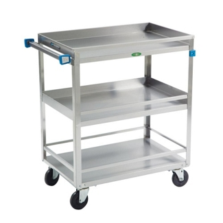 """Lakeside 27""""x18"""" Utility Cart with Guard Rails and Supports 500 lbs, 31800"""
