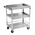"Lakeside 27""x18"" Utility Cart with Guard Rails and Supports 500 lbs, 31800"