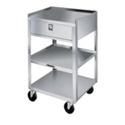 "Lakeside 19""x17"" Mobile Equipment Stand with Drawer, 31802"