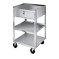 """Lakeside 19""""x17"""" Mobile Equipment Stand with Drawer, 31802"""