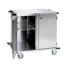 "Lakeside 43""x39"" Stainless Steel Two Section Closed Case Cart, 31823"