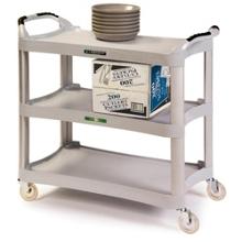"Lakeside 30""x17"" Medium Duty Plastic Utility Cart, 31826"