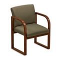 Sled Base Full Back Guest Chair, 52368