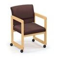 Ergo-Back Guest Chair with Casters, 52370