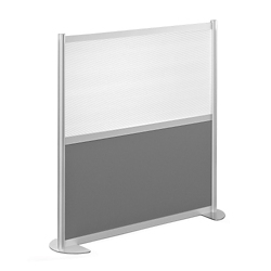 "52""W x 53""H Low Panel Wall Partition, 20103"