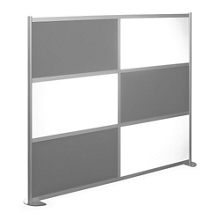 "100""W x 78""H High Panel Wall Partition, 20108"