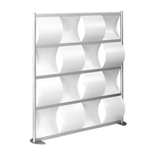 "100""W x 78""H Wave Panel Wall Partition, 20111"