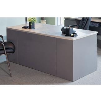 Rectangular Desk with 2 Pedestals, 11264