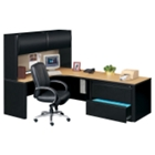 Right Corner Workstation with Hutch, 11270