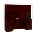 Hutch with Wood Doors, CD01085