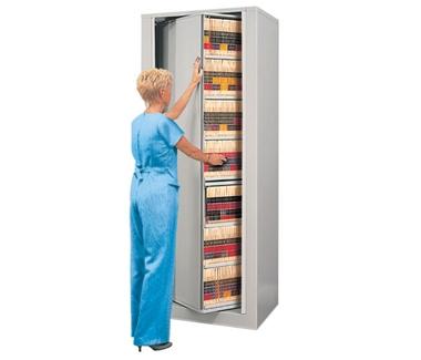 Eight Shelf Legal Size Rotary File - Starter Unit, 30337