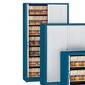Seven Shelf Tambour Door File Cabinet, 31438