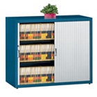 Three Shelf Tambour Door File Cabinet, 31440