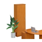 Left Hand Cabinet with Clothing Rod, CD01129