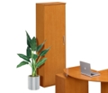 Left Hand Cabinet with Clothing Rod, 31486