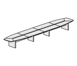26' Conference Table, 40689