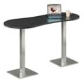"Peanut Shaped Bar Height Table - 72"" W x 30"" D, 41524"