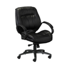 Contemporary Leather Conference Chair, 52292