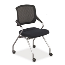 Mesh-Back Nesting Chair, 52351