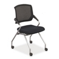 Mesh-Back Nesting Chair, 52351