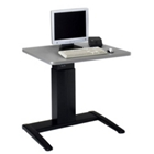 "Powered Adjustable-Height 42"" x 30""  Workstation, 60937"