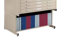 """47"""" W Open Base for Flat File, 70051"""