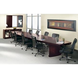 Panel Base Conference Table Set - 18', 86040