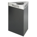 """26""""H Trash Receptacle with Multiple Lid Choices, 91406"""