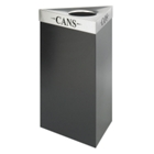"30""H Trash Receptacle with Multiple Lid Options, 91407"