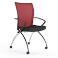 Mobile Nesting Chair with Mesh Back, 51548