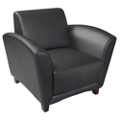 Leather Lounge Chair, 76491