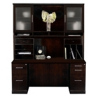 Sorrento Credenza & Hutch Set, CD06568
