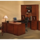Sorrento Right Return Executive U Desk with Hutch, CD06556