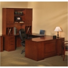 Sorrento Left Return Executive U Desk with Hutch, CD06557