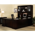 Sorrento Left Return Executive U Desk with Hutch, CD06561