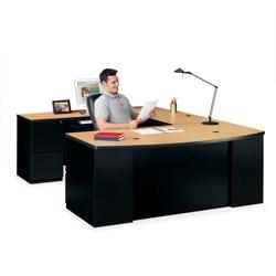 Bowfront U-Desk, 11262