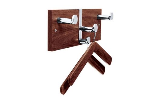 Wooden Coat Rack with Two Hangers, 90166