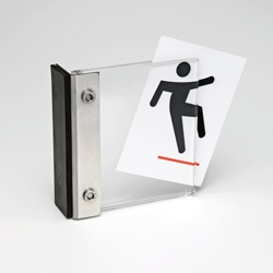 """Magnetic Sign Holder - 4""""W x 4""""H, 91906"""