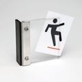 "Magnetic Sign Holder - 4""W x 4""H, 91906"