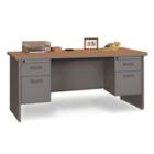 "Double Pedestal Desk - 66"" x 30"", 11953"