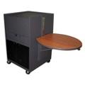 Mobile Media Cart with Acrylic Door, 43217