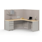 Surpass Corner Cubicle Workstation, 21701