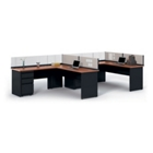 Surpass Individual Corner Workstation, 21702
