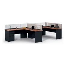 "Individual Corner Workstation - 72""W x 72""D, 21846"