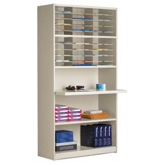 30 Pocket Multi-Function Mailroom Cabinet, 42076