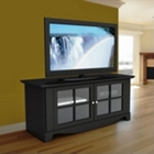 TV Stand with 2 Glass Doors, CD00611